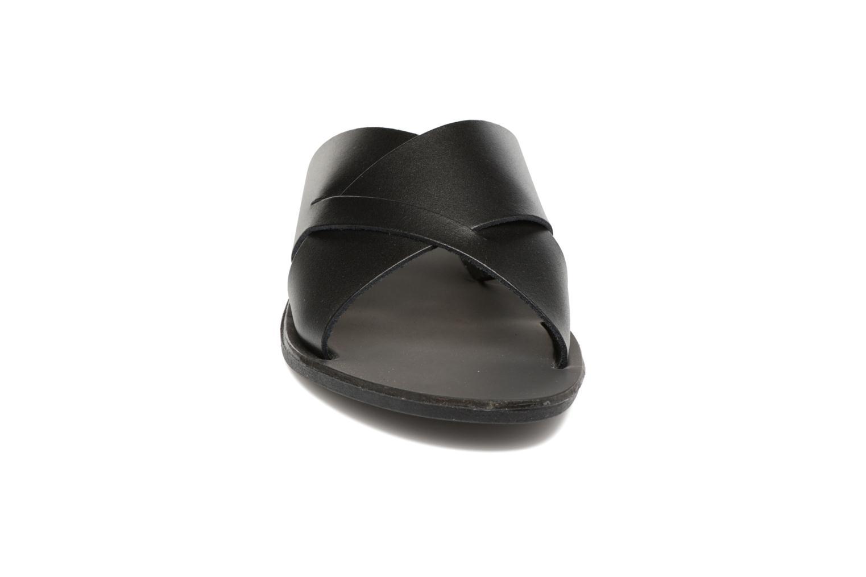 Sandales et nu-pieds Pieces Pslucca Noir vue portées chaussures