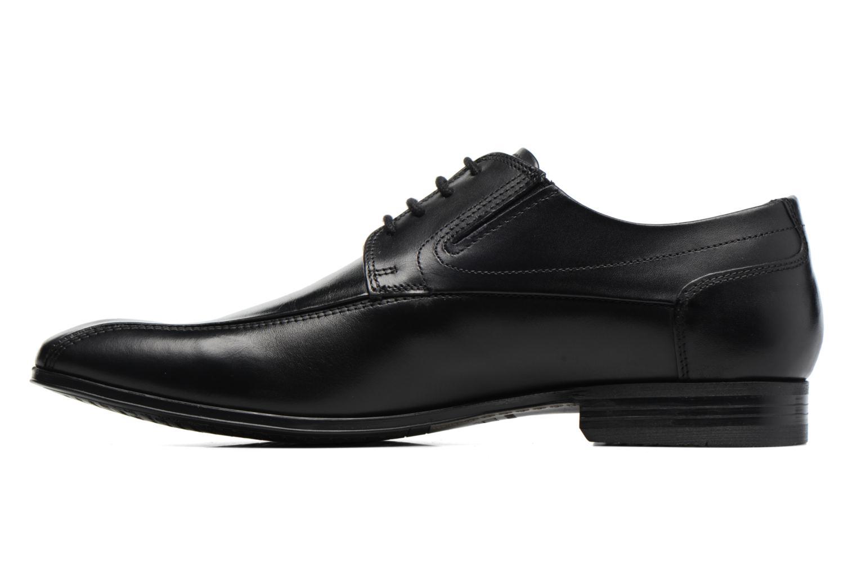 Chaussures à lacets Bugatti Battia Nappa Noir vue face