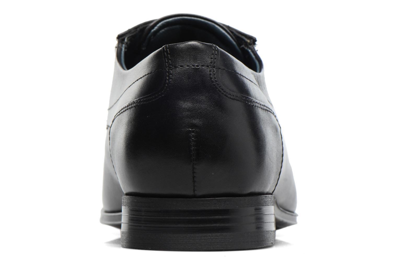 Chaussures à lacets Bugatti Battia Nappa Noir vue droite
