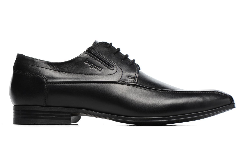 Chaussures à lacets Bugatti Battia Nappa Noir vue derrière