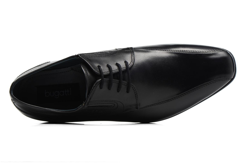 Chaussures à lacets Bugatti Battia Nappa Noir vue gauche