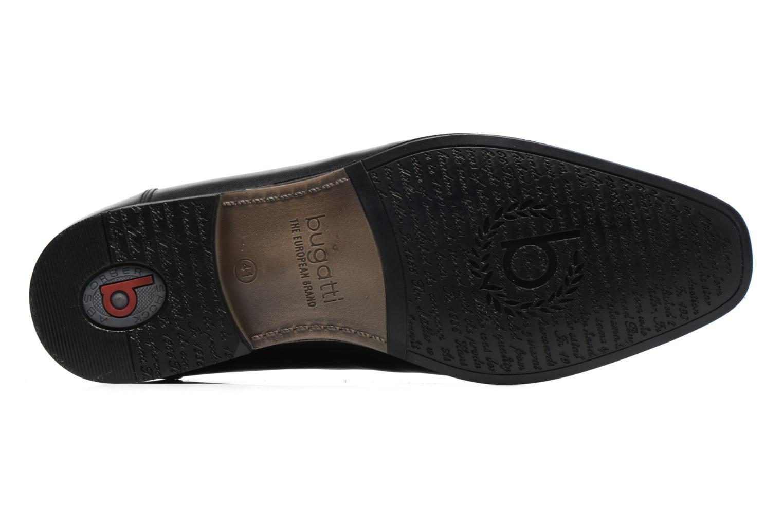 Chaussures à lacets Bugatti Battia Nappa Noir vue haut