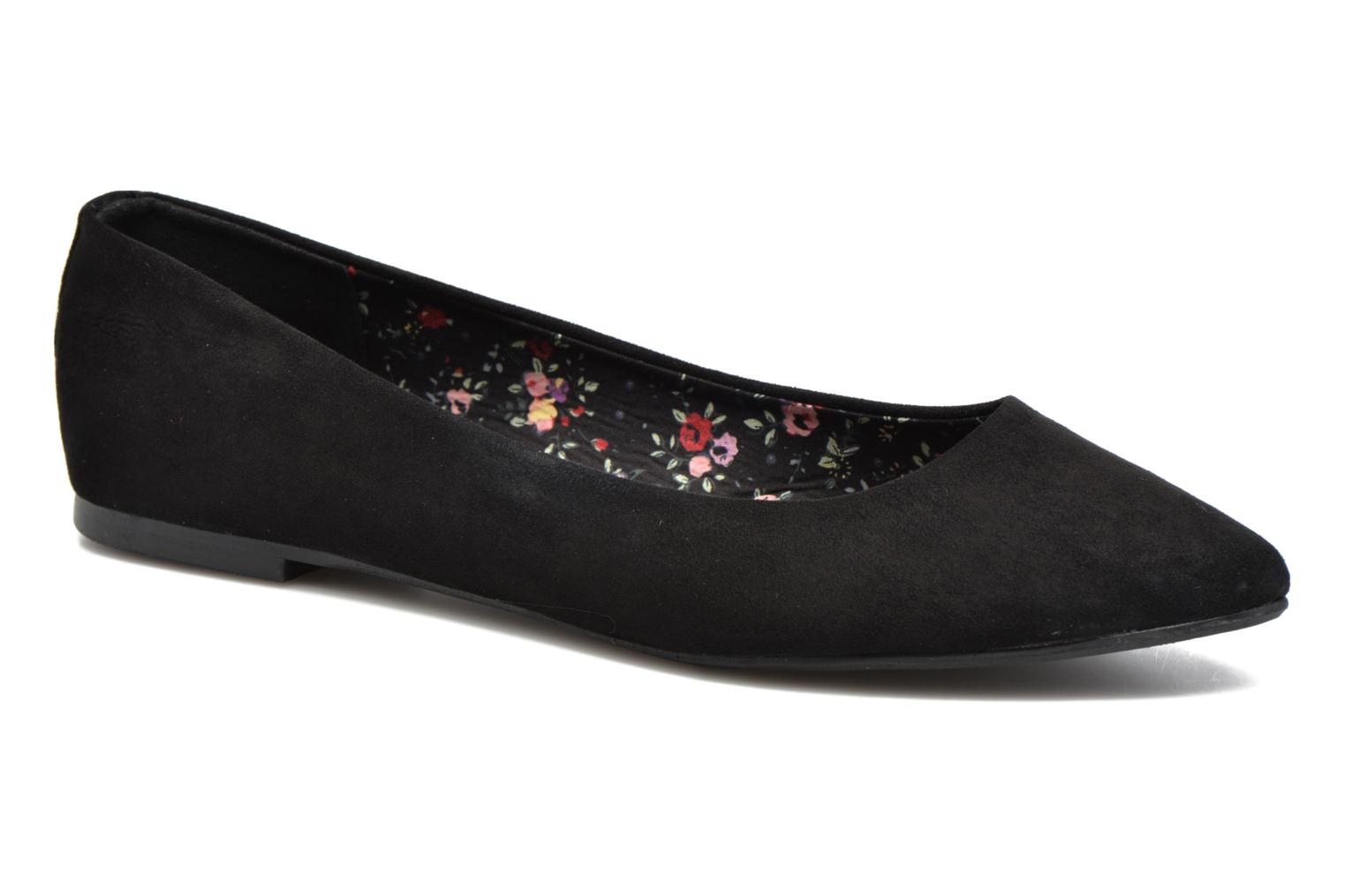 Ballerines I Love Shoes BLOWN Noir vue détail/paire