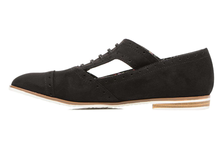 Chaussures à lacets I Love Shoes BLEST Noir vue face