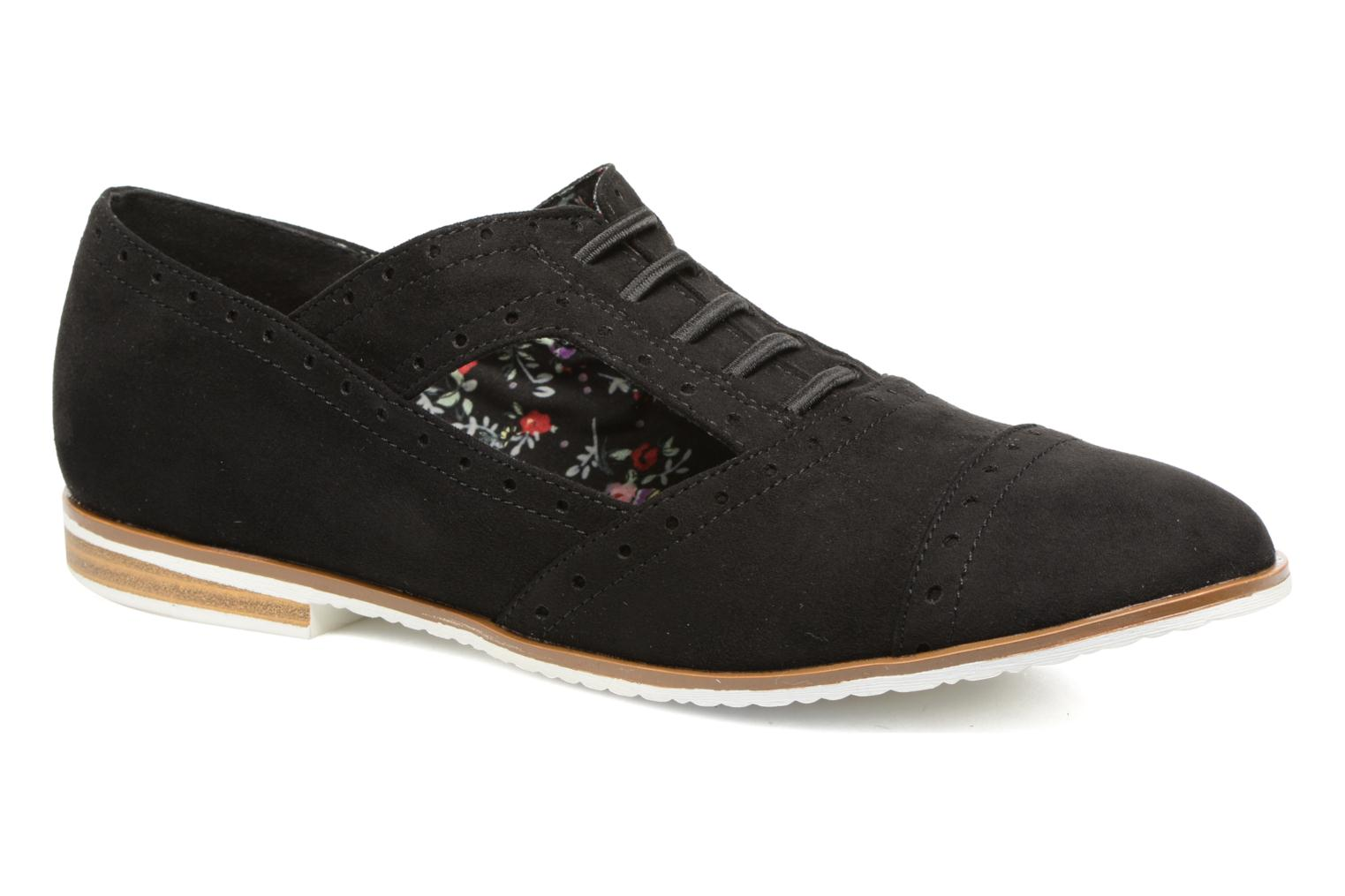 Lace-up shoes I Love Shoes BLEST Black detailed view/ Pair view