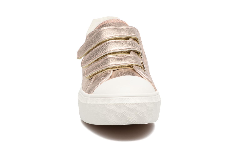 Baskets I Love Shoes BLOIVE Rose vue portées chaussures