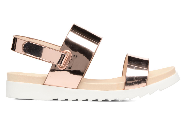 Sandales et nu-pieds I Love Shoes BLEEVA Or et bronze vue derrière
