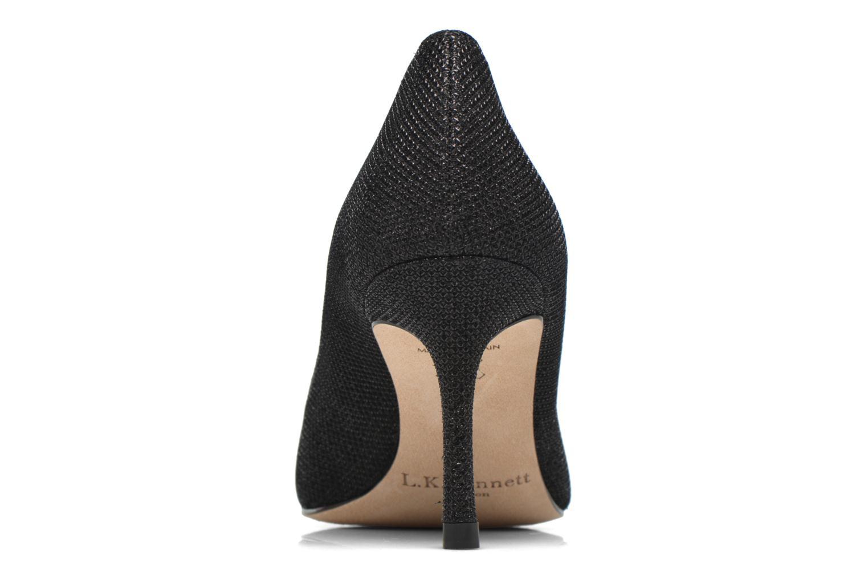 Zapatos de tacón L.K. Bennett Bianca Negro vista lateral derecha