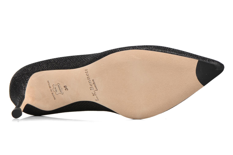 Zapatos de tacón L.K. Bennett Bianca Negro vista de arriba