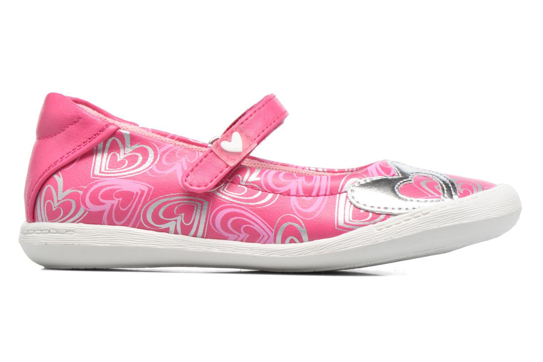 Ballet pumps Agatha Ruiz de la Prada Clever 2 Pink back view