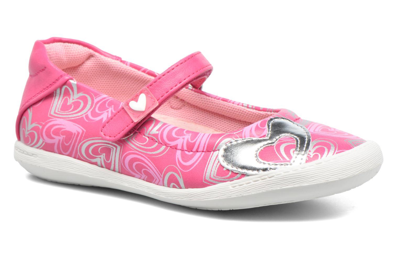 Ballet pumps Agatha Ruiz de la Prada Clever 2 Pink detailed view/ Pair view