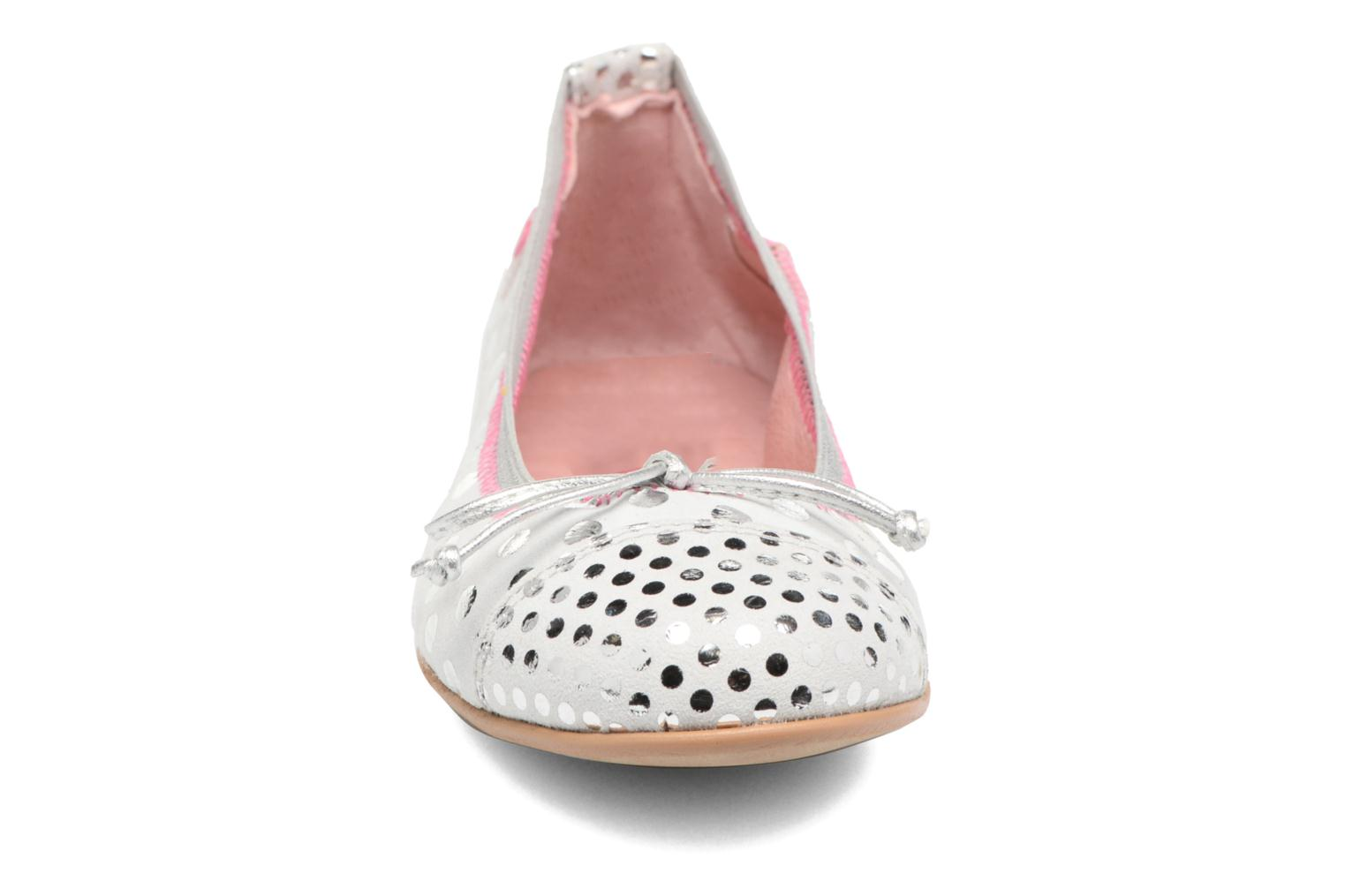 Ballet pumps Agatha Ruiz de la Prada Bailarinas Agatha White model view