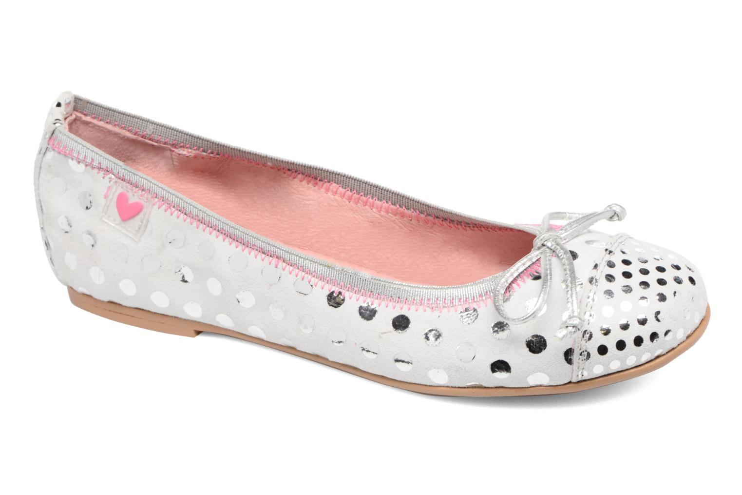 Ballet pumps Agatha Ruiz de la Prada Bailarinas Agatha White detailed view/ Pair view