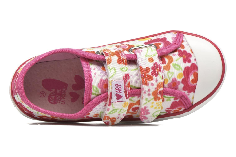 Deportivas Agatha Ruiz de la Prada Lonas Baby Agatha Multicolor vista lateral izquierda