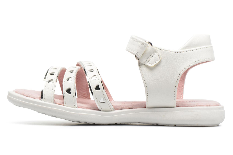 Sandales et nu-pieds Agatha Ruiz de la Prada Beauty Blanc vue face