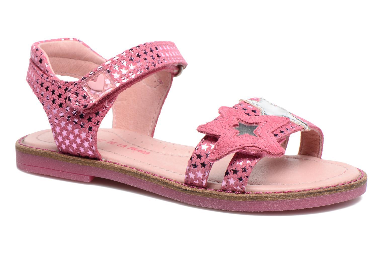 Sandales et nu-pieds Agatha Ruiz de la Prada Miss Ponza 2 Rose vue détail/paire