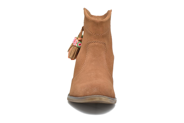 Bottines et boots Gioseppo Oriane Marron vue portées chaussures