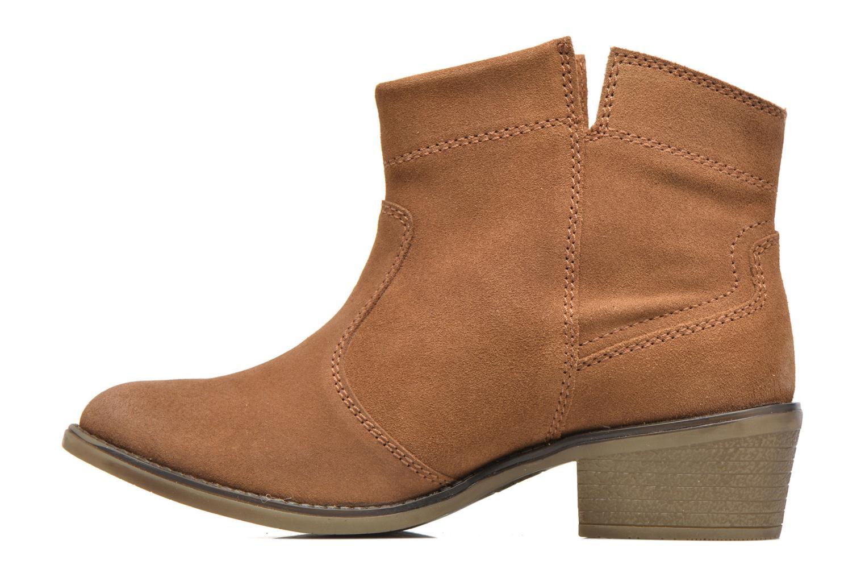 Bottines et boots Gioseppo Oriane Marron vue face