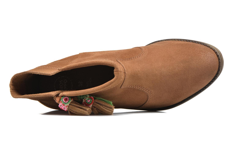 Bottines et boots Gioseppo Oriane Marron vue gauche
