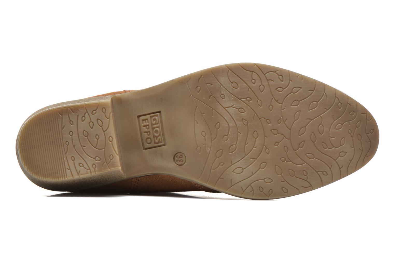 Bottines et boots Gioseppo Oriane Marron vue haut