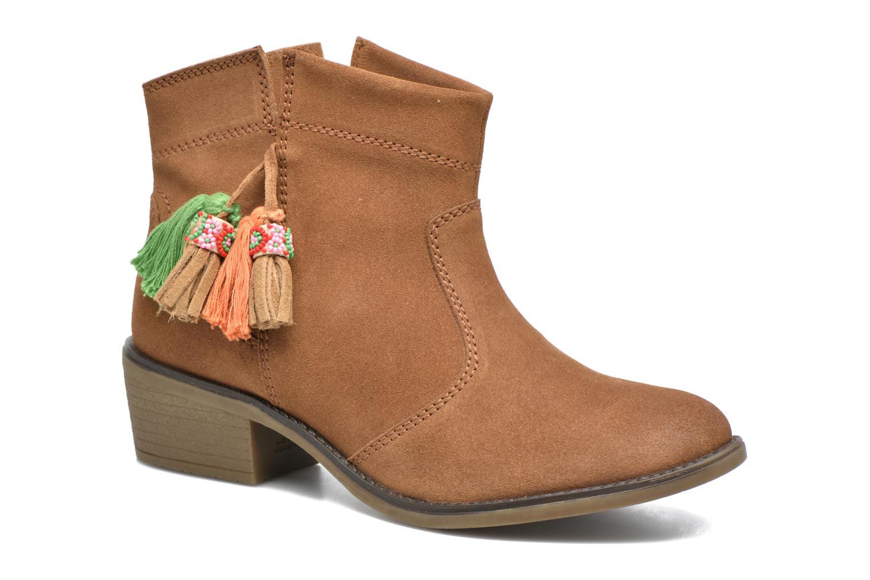 Bottines et boots Gioseppo Oriane Marron vue détail/paire