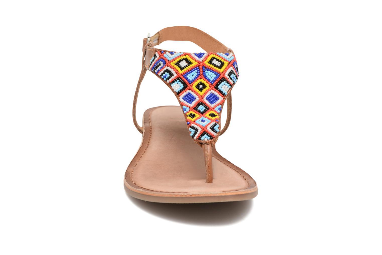 Sandales et nu-pieds Gioseppo Magnume Marron vue portées chaussures