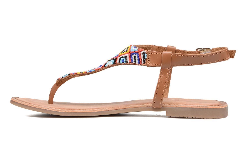 Sandales et nu-pieds Gioseppo Magnume Marron vue face