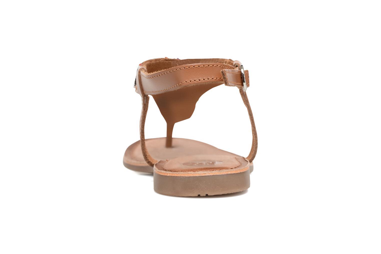 Sandales et nu-pieds Gioseppo Magnume Marron vue droite