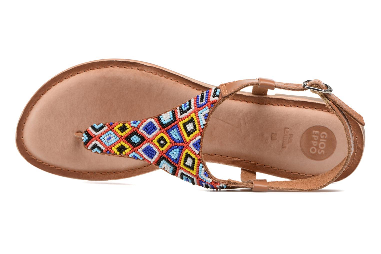 Sandales et nu-pieds Gioseppo Magnume Marron vue gauche