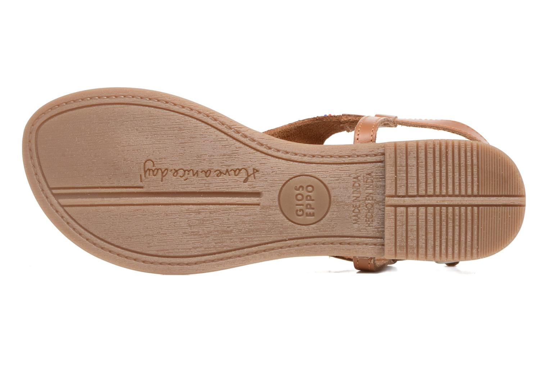 Sandales et nu-pieds Gioseppo Magnume Marron vue haut