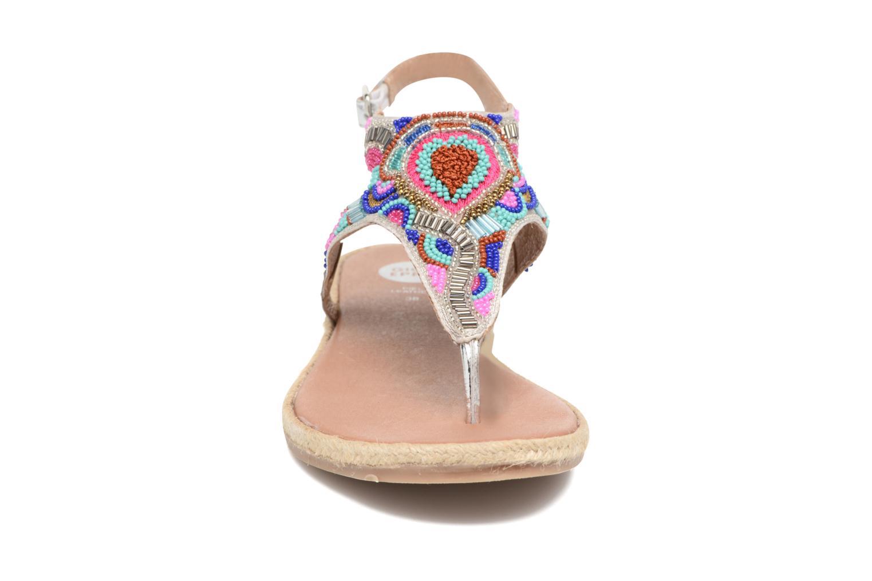 Sandales et nu-pieds Gioseppo Hermione Argent vue portées chaussures