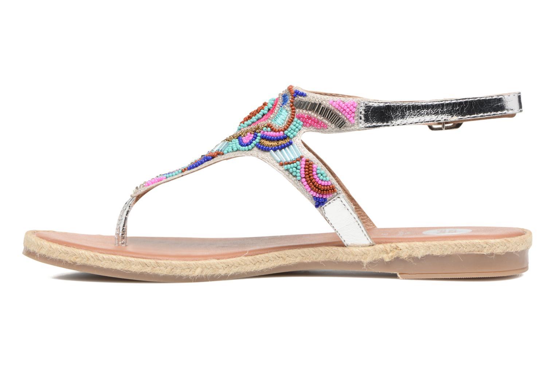 Sandales et nu-pieds Gioseppo Hermione Argent vue face