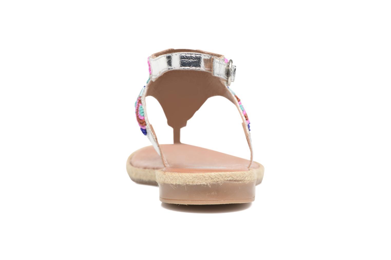 Sandales et nu-pieds Gioseppo Hermione Argent vue droite