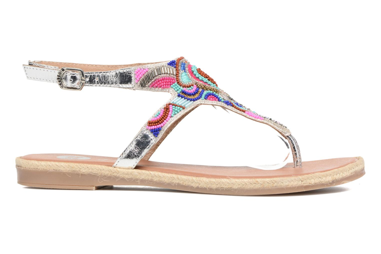 Sandales et nu-pieds Gioseppo Hermione Argent vue derrière