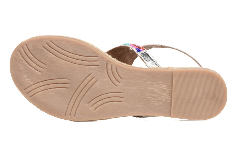 Sandales et nu-pieds Gioseppo Hermione Argent vue haut
