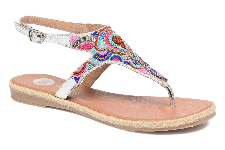 Sandales et nu-pieds Gioseppo Hermione Argent vue détail/paire