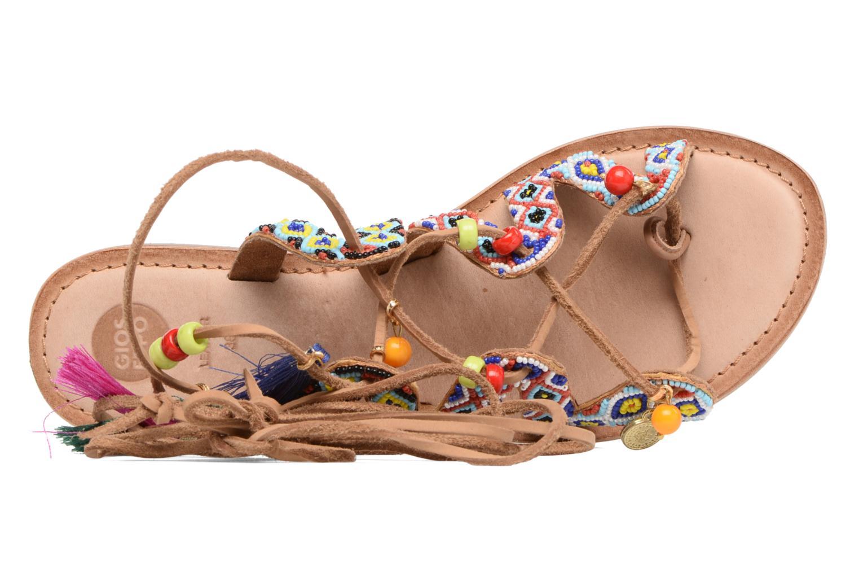 Sandales et nu-pieds Gioseppo Satanta Multicolore vue gauche