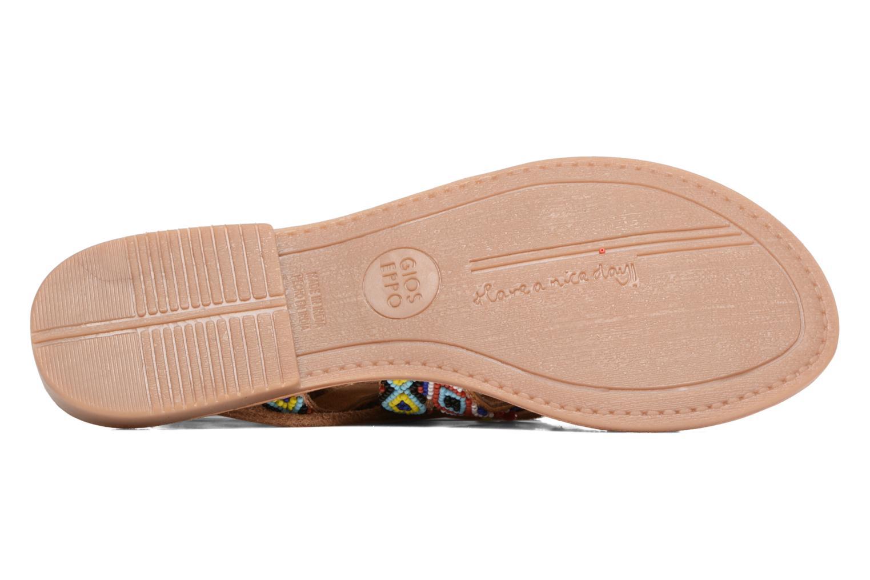 Sandales et nu-pieds Gioseppo Satanta Multicolore vue haut