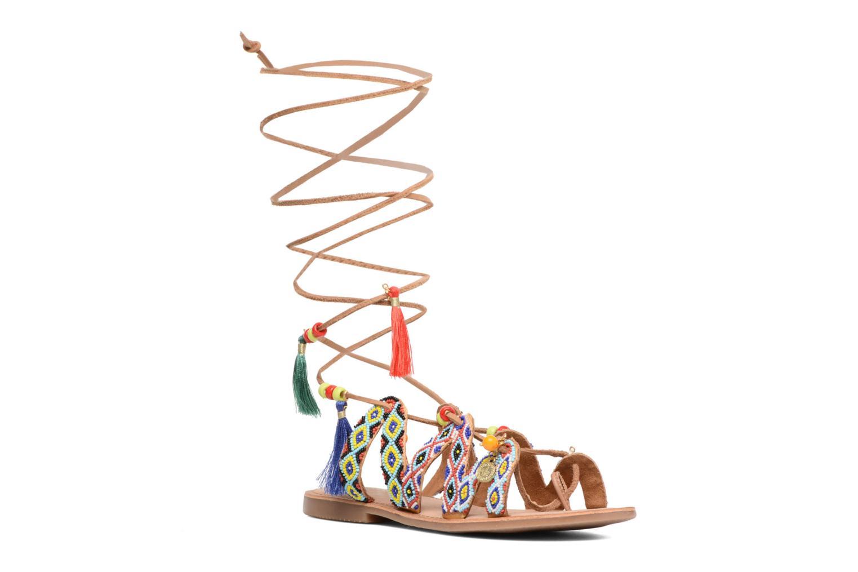 Sandales et nu-pieds Gioseppo Satanta Multicolore vue détail/paire