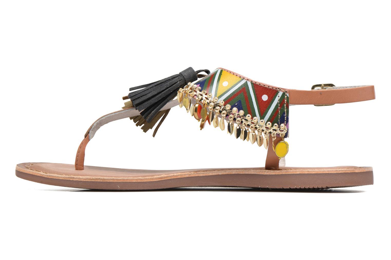 Sandales et nu-pieds Gioseppo Taplai Marron vue face