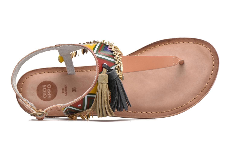 Sandales et nu-pieds Gioseppo Taplai Marron vue gauche