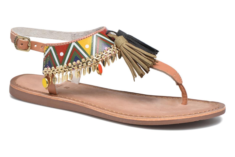 Sandales et nu-pieds Gioseppo Taplai Marron vue détail/paire