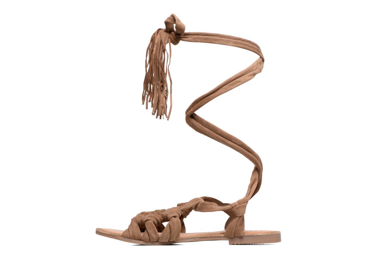 Sandales et nu-pieds Gioseppo Aladina Marron vue face