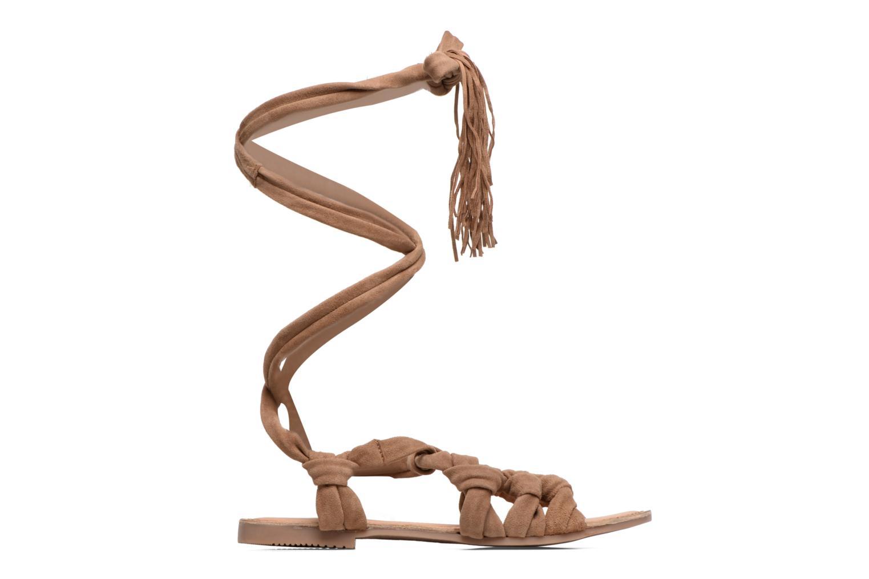 Sandales et nu-pieds Gioseppo Aladina Marron vue derrière