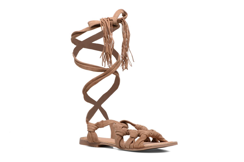 Sandales et nu-pieds Gioseppo Aladina Marron vue détail/paire