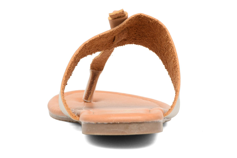 Sandalias I Love Shoes THIVUS Oro y bronce vista lateral derecha