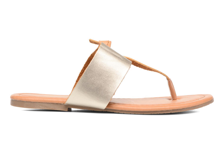 Sandalias I Love Shoes THIVUS Oro y bronce vistra trasera