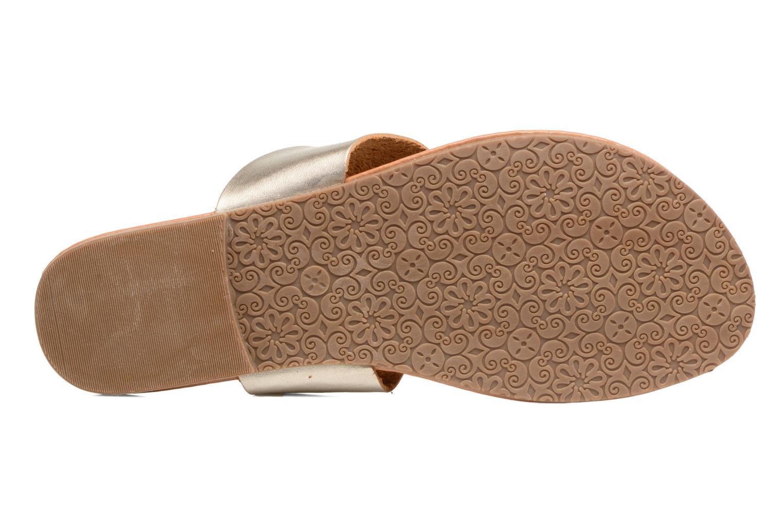Sandalias I Love Shoes THIVUS Oro y bronce vista de arriba