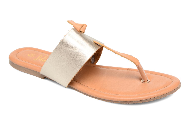I Love Shoes THIVUS (Or et bronze) - Sandales et nu-pieds chez Sarenza (282532)