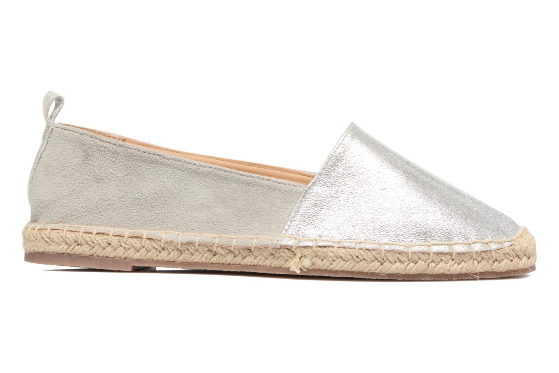 Espadrilles I Love Shoes THETE Argent vue derrière